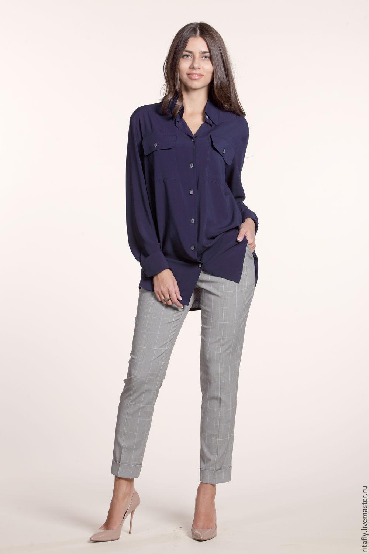 8c6fa6725e39 083: Классическая женская рубашка из вискозы – купить в интернет-магазине  на ...