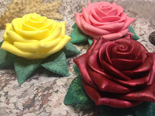 """Мыло ручной работы. Ярмарка Мастеров - ручная работа. Купить Мыло для рук """"Роза"""". Handmade. Роза, мыло ручной работы"""