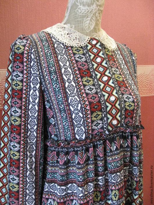 Платья ручной работы. Ярмарка Мастеров - ручная работа. Купить Платье из  трикотажа. Handmade. Платьице, бохо, скидки акции распродажи