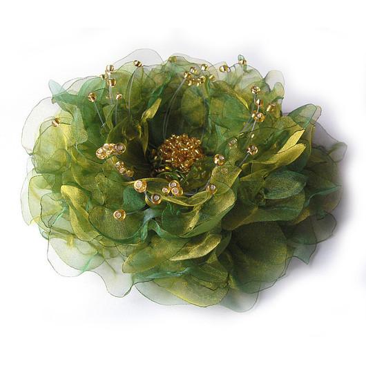 ArtGiftBox, текстильная брошь , брошь цветок