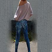 Одежда handmade. Livemaster - original item Jeans WINDROSE. Handmade.