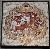 """Для дома и интерьера ручной работы. Ярмарка Мастеров - ручная работа Коробка для чая """"В старом шале"""". Handmade."""