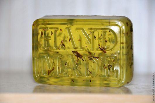 Мыло ручной работы. Ярмарка Мастеров - ручная работа. Купить Мятное мыло. Handmade. Мыло ручной работы, подарок женщине