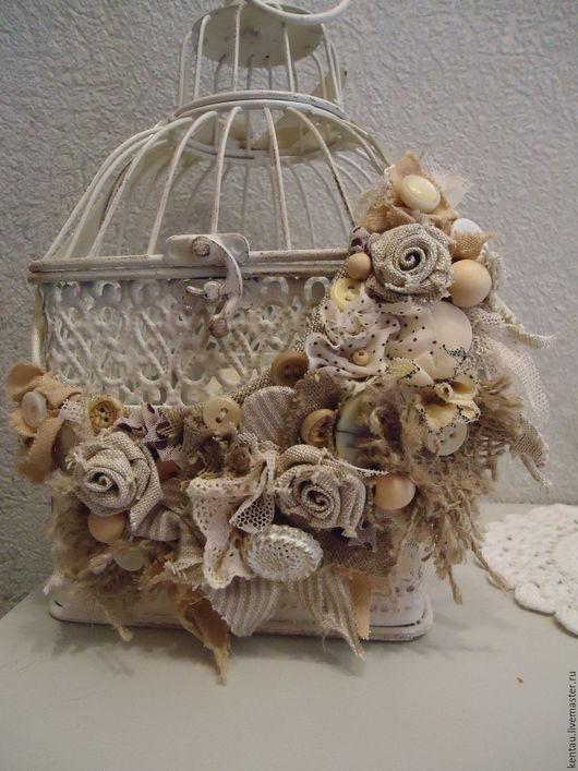 """Колье, бусы ручной работы. Ярмарка Мастеров - ручная работа. Купить Бохо-колье """"Три розы"""". Handmade. Серый"""