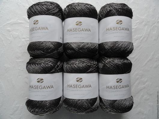 Вязание ручной работы. Ярмарка Мастеров - ручная работа. Купить Пряжа Hasegawa KARIN № T-19 SHELL GRAY. Handmade.