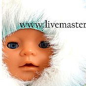 Куклы и игрушки ручной работы. Ярмарка Мастеров - ручная работа Зимний комплект на куклу беби бон. Handmade.