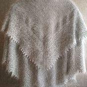 Для дома и интерьера handmade. Livemaster - original item 6T.Plaid knit, blanket, shawl big size 2m, shawl.. Handmade.