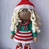 Большеножка ручной работы. Ярмарка Мастеров - ручная работа Кукла вязаная. Handmade.