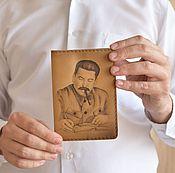 Канцелярские товары ручной работы. Ярмарка Мастеров - ручная работа Обложка Сталин. Handmade.