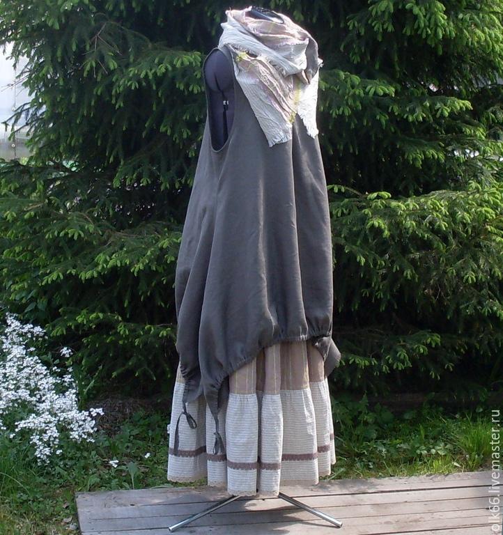 Туника из шарфа доставка