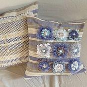 Для дома и интерьера ручной работы. Ярмарка Мастеров - ручная работа комплект из 2-х чехлов на подушки. Handmade.