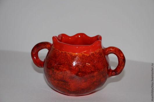 """Кружки и чашки ручной работы. Ярмарка Мастеров - ручная работа. Купить Кружка """"Гранат"""". Handmade. Ярко-красный, чашка, для чаепития"""