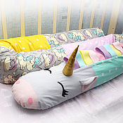 Для дома и интерьера handmade. Livemaster - original item Side cushion in the crib, pillow for pregnant women