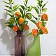 Интерьерные композиции ручной работы. Оранжевый привет в цветках физалиса..... Landora (Galitn). Ярмарка Мастеров. Авторская ручная работа
