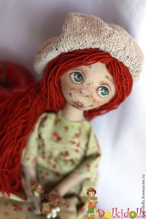 Коллекционные куклы ручной работы. Ярмарка Мастеров - ручная работа. Купить кукла текстильная нимфа-талисман Сильва-нимфа весеннего леса. Handmade.