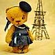 Мишки Тедди ручной работы. Заказать Эвва в Париже. Пур-Пур (pur-pur). Ярмарка Мастеров. Игрушка ручной работы
