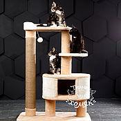 """Для домашних животных, ручной работы. Ярмарка Мастеров - ручная работа Когтеточка для больших кошек  """"Сиеста 120"""". Handmade."""