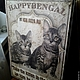 Животные ручной работы. Ярмарка Мастеров - ручная работа. Купить Панно деревянное, вывеска на заказ Бенгальские коты W0359. Handmade.