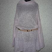 """Одежда ручной работы. Ярмарка Мастеров - ручная работа Туника """"Розовый кварц-2"""" большой размер. Handmade."""