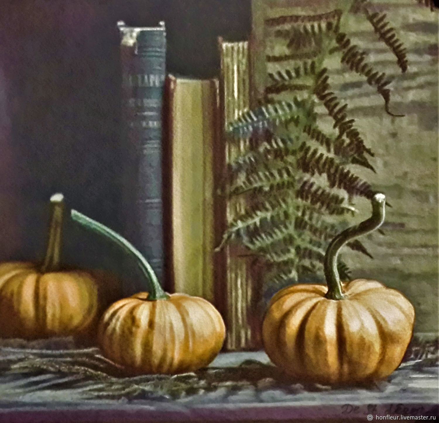Picture: Gifts of autumn. Pumpkin, Pictures, Moscow,  Фото №1