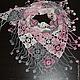 Шали, палантины ручной работы. Ярмарка Мастеров - ручная работа. Купить Бактус Розовые мечты. Handmade. Розовый, бактус крючком