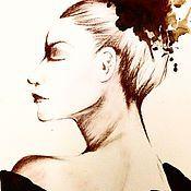 Картины и панно ручной работы. Ярмарка Мастеров - ручная работа Портрет балерины. Handmade.