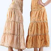 Одежда ручной работы. Ярмарка Мастеров - ручная работа Ярусные юбочки на лето. Handmade.