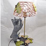 handmade. Livemaster - original item Warm autumn-table lamp. Handmade.