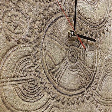 """Для дома и интерьера ручной работы. Ярмарка Мастеров - ручная работа """"МЕХАНИКА ВЕКОВ"""" из песка часы авторские. Handmade."""