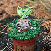 Куклы и игрушки ручной работы. Ярмарка Мастеров - ручная работа Мандрагора Гарри Поттер фентази волшебный лес магический предмет. Handmade.