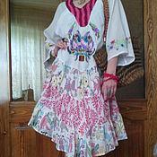 Одежда ручной работы. Ярмарка Мастеров - ручная работа платье Тенерифе. Handmade.
