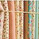 Шитье ручной работы. Ярмарка Мастеров - ручная работа. Купить Поплин 12 цветов. Handmade. Ткань для творчества, ткань для одежды