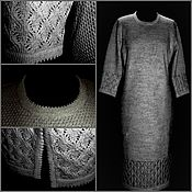 Одежда handmade. Livemaster - original item Linen yarn .Dress