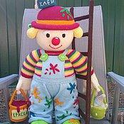 Куклы и игрушки ручной работы. Ярмарка Мастеров - ручная работа КЛОУН МАЛЯР. Handmade.