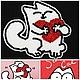 """Броши ручной работы. Ярмарка Мастеров - ручная работа. Купить Брошь,,Кот Саймона"""". Handmade. Белый, кот, Саймон"""