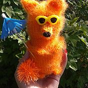 Stuffed Toys handmade. Livemaster - original item Fox