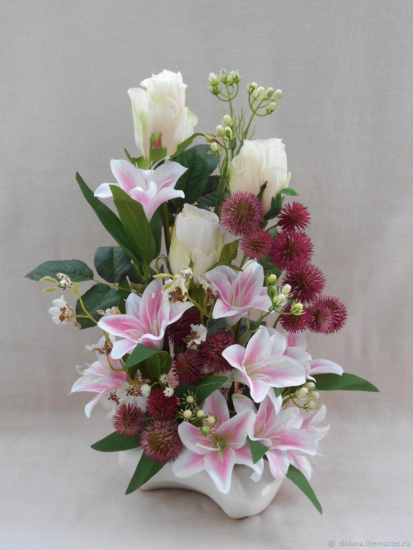 является важнейшим лилии в цветочной композиции фото увидеть