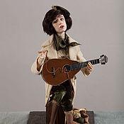 Куклы и игрушки ручной работы. Ярмарка Мастеров - ручная работа Портретная кукла Вероника Долина. Handmade.