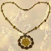 "Украшения handmade. Livemaster - original item Chain with a pendant ""sunny day"". Handmade."