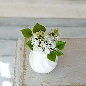 Miniature figurines handmade. Livemaster - original item White lilac in the scale 1: 12. Handmade.