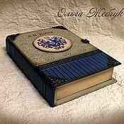 Для дома и интерьера handmade. Livemaster - original item Box-book. Engraved with the personal coat of arms.. Handmade.