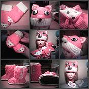 Комплекты одежды ручной работы. Ярмарка Мастеров - ручная работа комлект для девочки. Handmade.