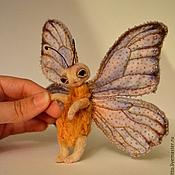 Куклы и игрушки ручной работы. Ярмарка Мастеров - ручная работа Бабочка Морфо Годарта,размах крыльев 15 см.. Handmade.