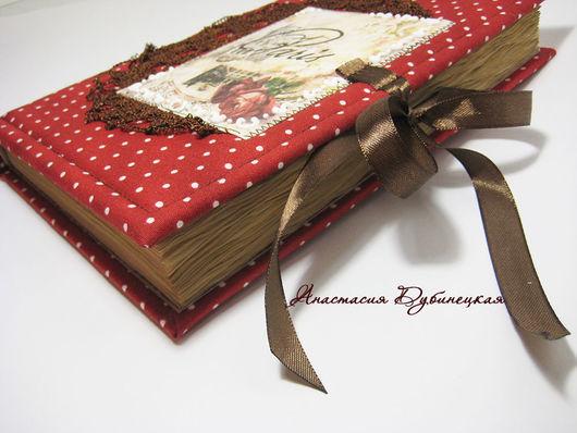 Винтажный блокнот ручной работы для женщины Париж