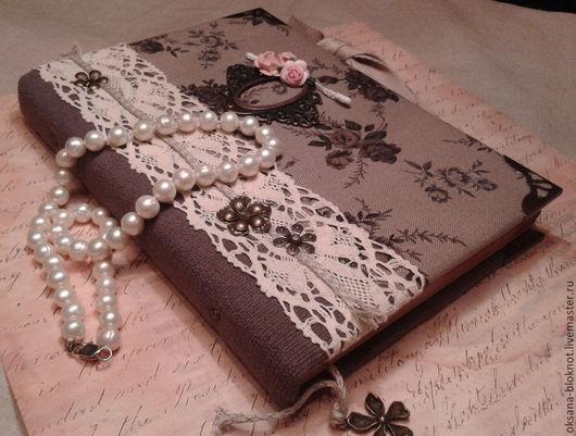Блокноты ручной работы. Ярмарка Мастеров - ручная работа. Купить Блокнот ручной работы Из бабушкиного сундука (формат А5). Handmade.