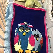 Сувениры и подарки handmade. Livemaster - original item Children`s blanket for the baby