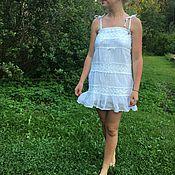 handmade. Livemaster - original item Calico sundress Denny Rose 40 size Italy calico summer. Handmade.