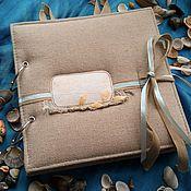 Подарки к праздникам ручной работы. Ярмарка Мастеров - ручная работа Альбом для фотографий из путешествия. Handmade.