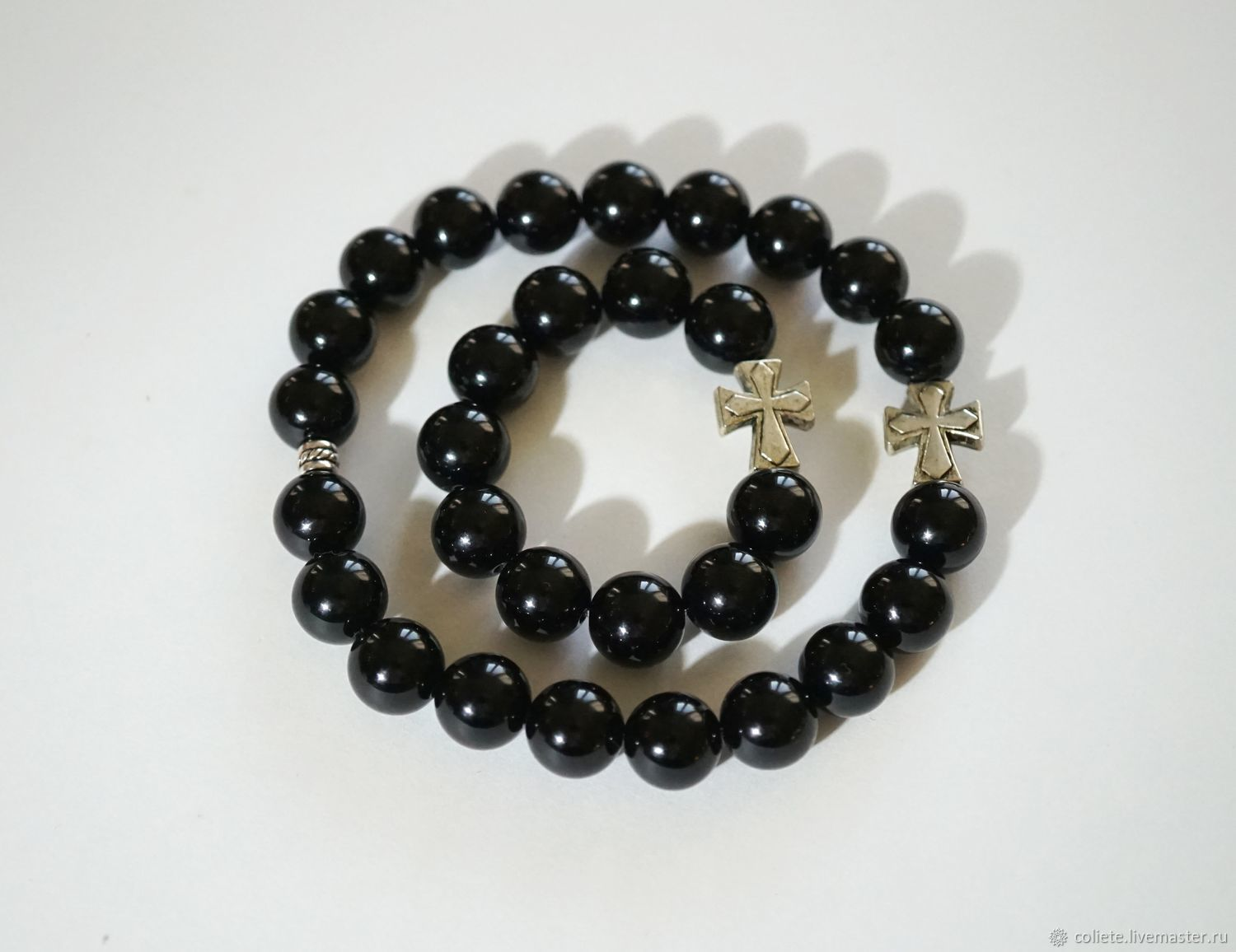 A set of rosary of the black jade'Strong-willed', Rosary, Moscow,  Фото №1