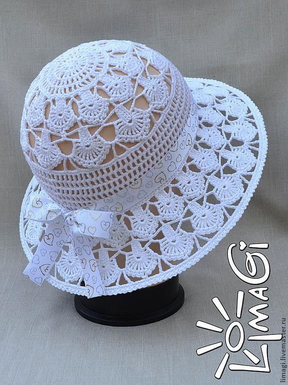 Шляпка для девочки, МК